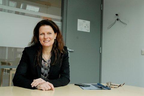 Administrerende direktør i Helse Sør-Øst, Cathrine Lofthus.