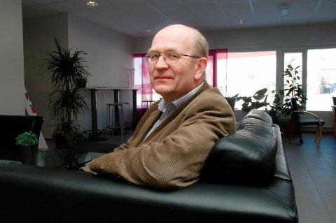 OPPTRAPPING: Kjell Haugen i Arbeidstilsynet varlser flere kontroller - ukentlig og daglig.