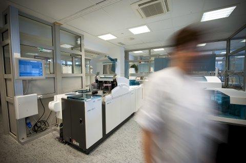 KREVENDE: Ansatte ved Sykehuset Innlandet rapporterer om høy arbeidsbelastning. Arkivfoto.