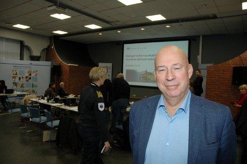 UTREDER: Prosjektleder og fagsjef i Helse Sør-Øst, Geir Bøhler
