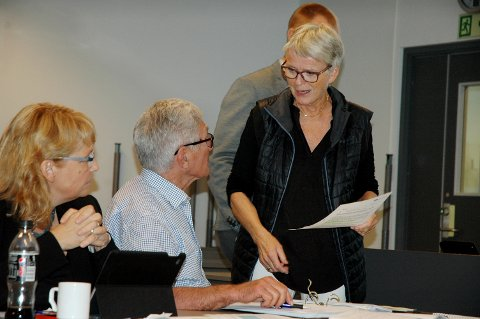 SATSER PÅ MJØSSYKEHUS: Styreleder Anne Enger vil ikke ha noe stort akuttsykehus i tillegg til Mjøssykehuset
