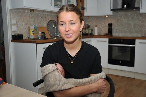 TØFFE ÅR: Nora Ahlqvist fra Trysil klarte ikke kontrollere sine egne tanker da spiseforstyrrelsen tok tak. – Det skremmer meg at det var mulig å tenke sånn.