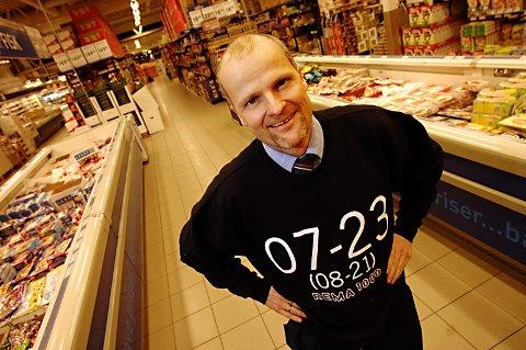MÅ JOBBE HARDERE: Pål Sommerseth sier konkurransen i den lokale dagligvarebransjen er knallhard i en kommune som han mener har butikker nok til å dekke hele Oppland og Hedmark.