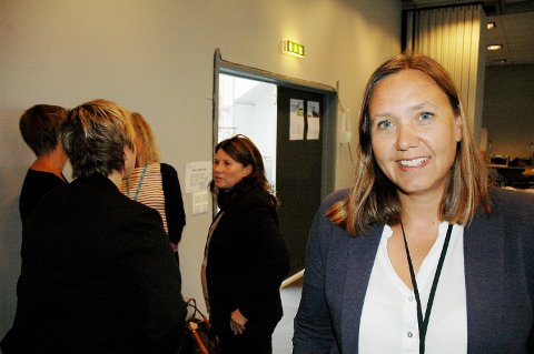 TAKK OG FARVEL: Divisjonsdirektør ved sykehuset Gjøvik- Lillehammer, Hege Lundring