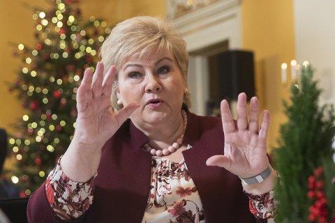 HÅP: Erna Solberg har også håpet på et universitet i Innlandet. Tirsdag må hun si et alvorsord om dette på Agenda Innlandet..
