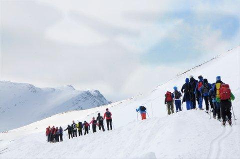 KVISTER IKKE LØYPENE: Turistforeningen bestemte mandag at vinterløypene i fjellet ikke skal merkes.