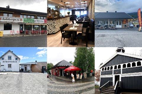 Disse spisestedene var blant 26 spisesteder som i september fikk besøk av kontrollører fra Mattilsynet.