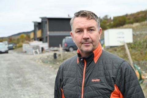 EIENDOMSUTVIKLER: Stig Ringom i SR Byggprosjekt AS, Lillehammer.