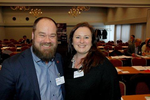 ULIKT SYN I FRP: Wenche Haug Almestrand vil ha tre sykehus. Truls Gihlemoen vil ha sykehus ved Mjøsbrua