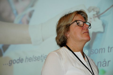 – Vi som ledere har et kjempeansvar for å motivere våre ansatte til å følge de økonomiske rammene, sier administrerende direktør Alice Beathe Andersgaard i Sykehuset Innlandet.