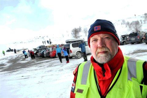 Asbjørn Espeseth i Lesja Røde Kors Hjelpekorps