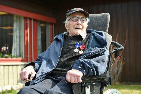 Sylfest Storlien (94) frå Vågå deltok i Tysklandsbrigaden i 1947.