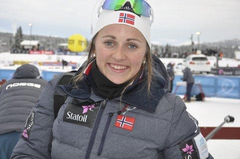 SEMIFINALE: Barbro Kvåle ble dyttet over ende i semifinalen og kom ikke til finalen i Scandinavisk cup i Finland.
