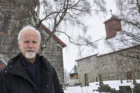 SISTE PREKEN: Hans Erik Raustøl blir pensjonist etter prekenen i Ål kirke 29. november.