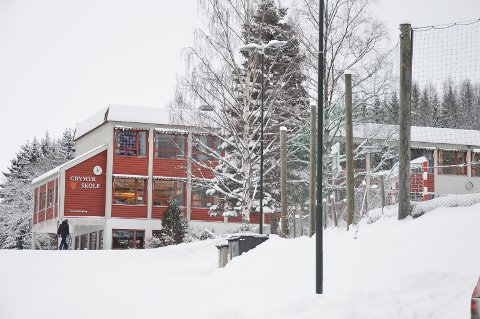 INNBRUDD: Tirsdag i påskeuka var det innbrudd ved Grymyr skole.