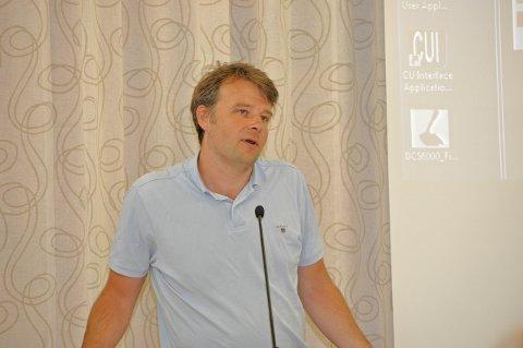For: Magnus Ofstad i Lunner Frp varer at han vil stemme for fusjon. Arkivfoto