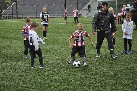 MOT MÅL: Sander Heijer nærmer seg målet.
