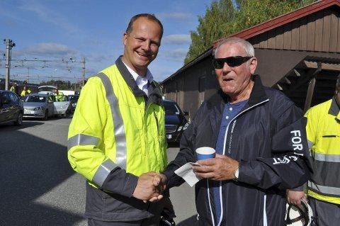 Ketil Solvik-Olsen og Einar Ellefsrud