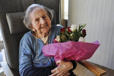 100: Ella Olaug Johnsrud fyller 100 år mandag.
