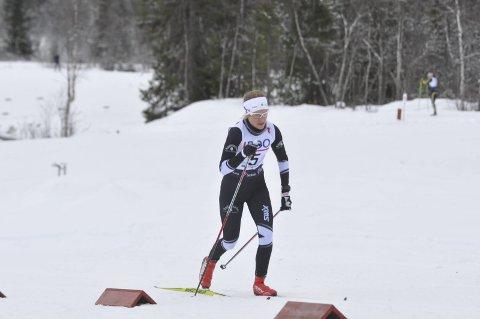 2. PLASS: Marie Renee Sørum Gangsø fra Svea tok 2. plassen totalt i Budorrennet.