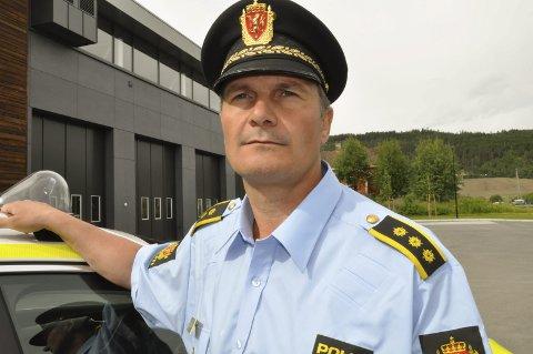 Lensmann Frank Magne Sletten må søke på jobben, hvis han ønsker å beholde den. Arkivfoto