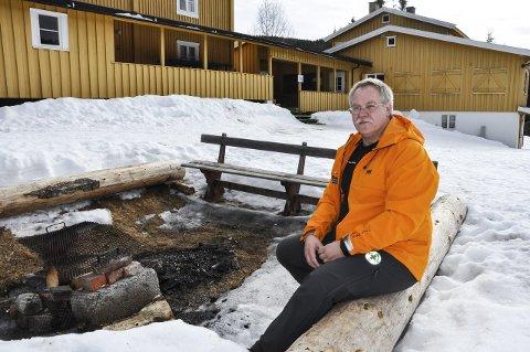 BEREDSKAP: Guttorm Skovly forteller at det ikke blir beredskap på Brovoll i år.