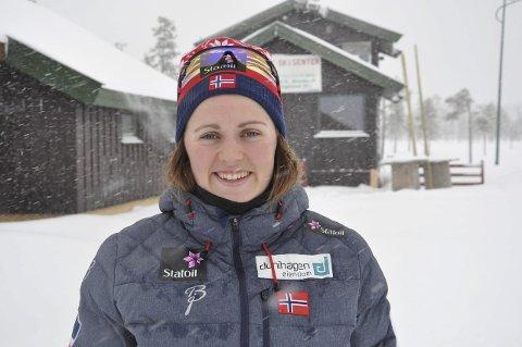 HJEMMEBANE: Barbro Kvåle leder norgescupen og gleder seg til prøve-NM.