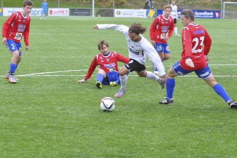 SCORET: Aleksander Tanfi utliknet til 1–1 for Gran i lørdagens seriekamp mot Lillestrøm 2.