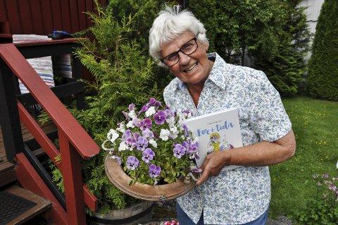 HOBBY: Skriving er en hobby for Gerd Nyland. Hun er allerede i gang med å skrive en ny.