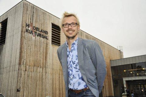 NY SJEF: Torstein Nybø overtar ansvaret for å fylle Hadeland kultursal med innhold.