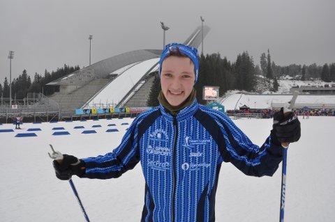 KOLLEN: Erlend Gammelsæter startet satsingen som 16-åring. I junior-NM i Kollen ble han nummer 49 på sprinten.