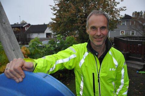 UTFORDRING: Neste store utfordring for Gunnar Næss blir å løpe til hytta på Synnfjell.
