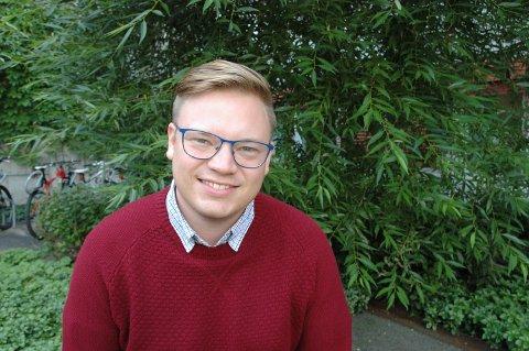GJEST: Even Aleksander Hagen, fylkesordfører i Oppland (Ap), kommer også til Hadeland Folkemuseum.