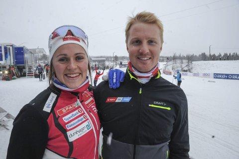 SESONGÅPNING: Barbro Kvåle Trømborg takker ektemannen Stian for at hun fortsatt satser for fullt på langrenn.