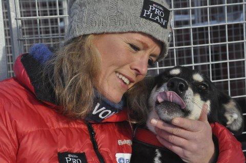 KLAR: Nina Skramstad er lokalt håp i Femundløpet.