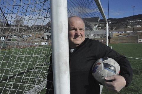 KLAR: - Nå er jeg klar for innsats på A-laget igjen, sier Arne Hvinden.