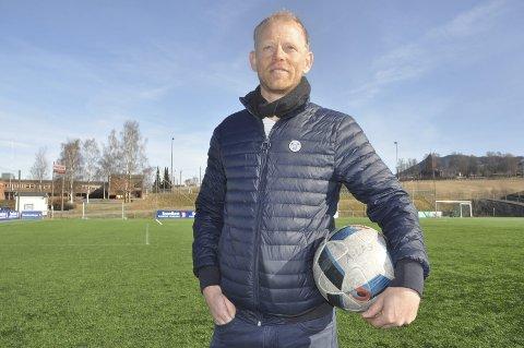 NY JOBB: Rune Kalleberg prøver seg i ny jobb etter 20 år som idrettslærer.