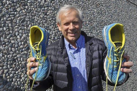 Klar: Willy Westhagen løper Viggaløpet lørdag.