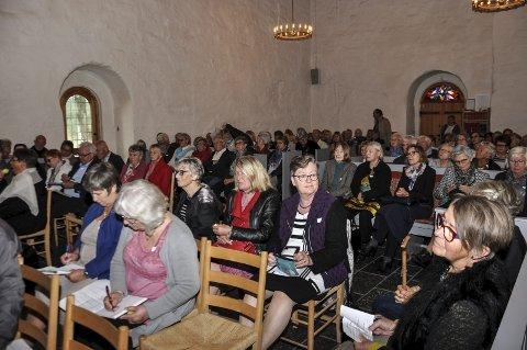 I 2016: Olavseminar på Granavollen trakk full kirke da seminaret ble arrangert 31. august 2016.