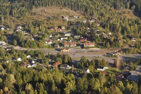 GRUA: Et av stedene på Hadeland som er populære i boligmarkedet. Illustrasjonsfoto.