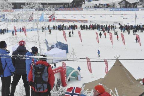NY SKIFEST: I februar 2018 er det klart for nytt landsomfattende skiarrangement på Lygna. Foto: Rune Pedersen