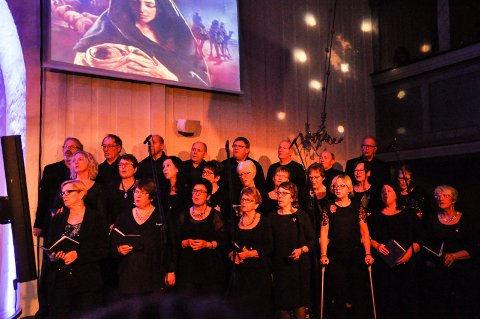 Konsert: Lunner kammerkor inviterer til konsert i Lunner kirke søndag 14. mai. Bildet er tatt i 2015.