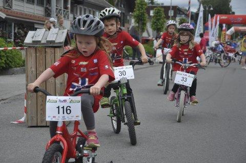 JUBILEUM: Tour of Norway for kids kommer til Brandbu for tiende gang. Arkivfoto