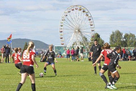 EKEBERGSLETTA: Bare tre lokale ungdomslag kjemper om sluttspillplassene i årets utgave av Norway Cup. Arkivfoto: Rune Pedersen