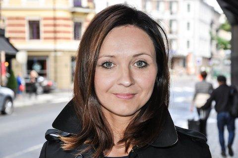 FORFATTER: Malmfrid Hallum fra Lunner har skrevet teaterstykket som vises i kultursalen lørdag.