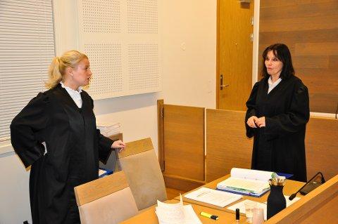 ALVORLIG: Trine Hanssen er aktor i den alvorlige straffesaken og Inger Marie Støen er bistandsadvokat.
