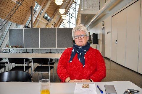 TUNG TID: Tillitsvalgt Marit Jønland og ni andre ved Aditro på Gran sies opp.