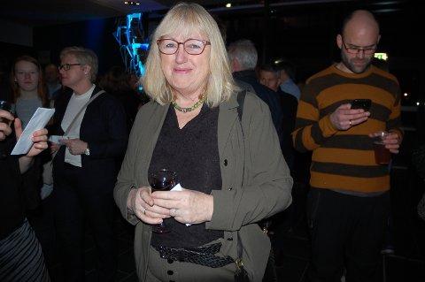 FAN: Aud Jorun Hvinden storkoste seg på Adam Douglas-konsert lørdag kveld.