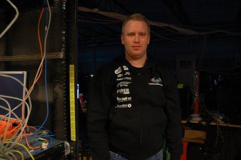 ARRANGØR: Steinar Engelund Glæserud leder Hadeland event, og har vært med på å arrangere HadeLAN siden starten i 2007.