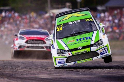 VM: Tommy Rustad kjører utvalgte VM-løp denne sesongen.
